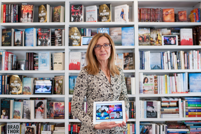 "Judith Curr, the president and publisher of Atria, says signing YouTube celebrities ""gives us access to a whole new talent pool."" Credit Nancy Borowick for The New York Times"
